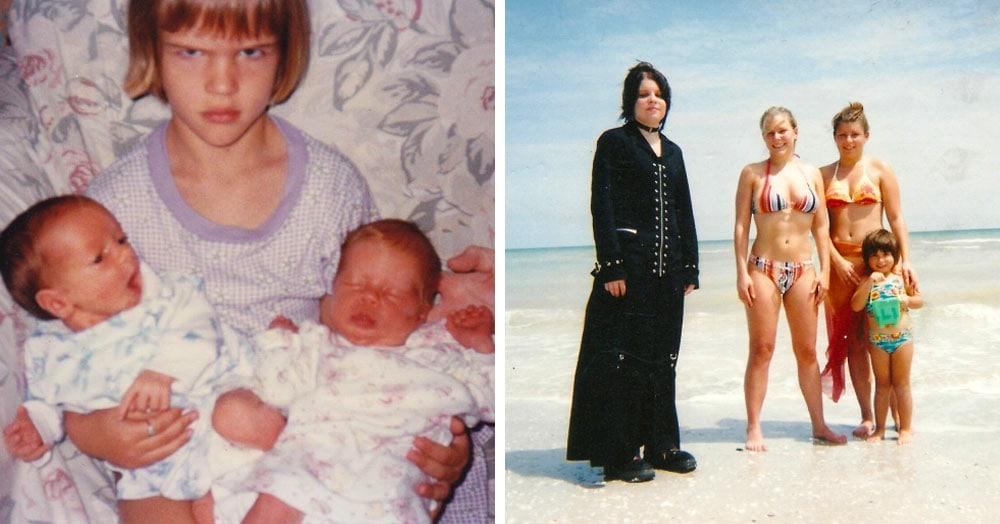 16 снимков братьев и сестёр, у которых фотогеничность — это семейное