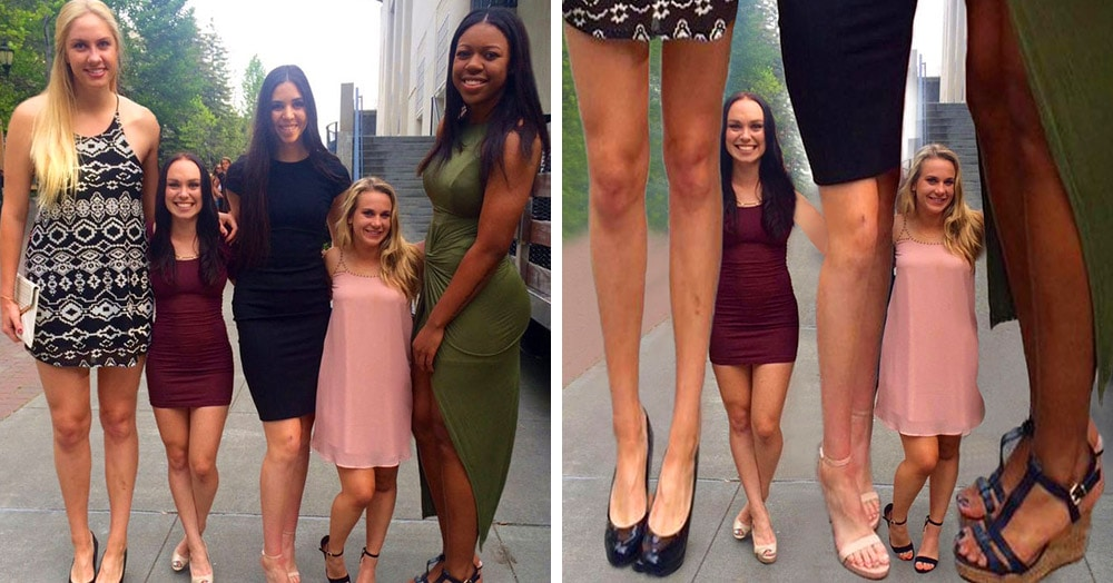 Разница в росте баскетболисток и черлидерш поразила интернет. Народ тут же бросился их фотошопить