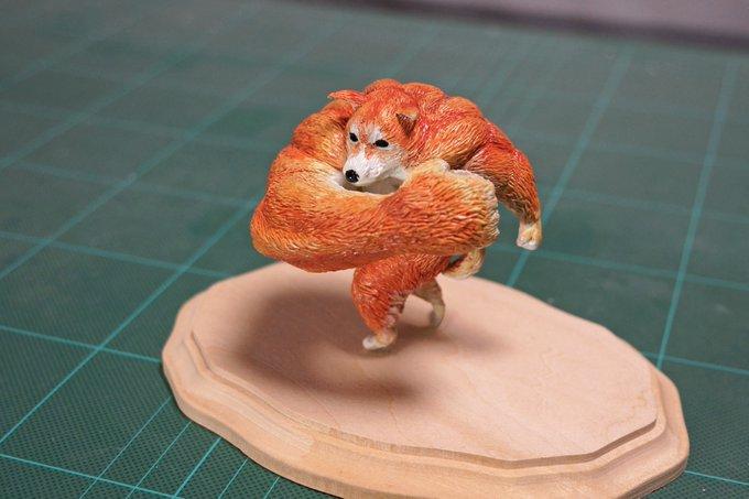 1564993655 9c78ab0e04c4da25f8de6bfc1aee6da6 - 20 работ от японца, который превращает мемных животных в смешные фигурки