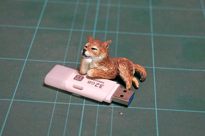 1564993736 7c9b811751a3034f11abeb5cb84f531f - 20 работ от японца, который превращает мемных животных в смешные фигурки