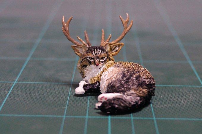 1564993930 e6e96778b2497d5bc732eee80dbafa72 - 20 работ от японца, который превращает мемных животных в смешные фигурки