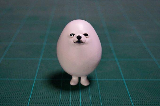 1564993959 7c292fba603cb8704b50d31dc32d9165 - 20 работ от японца, который превращает мемных животных в смешные фигурки