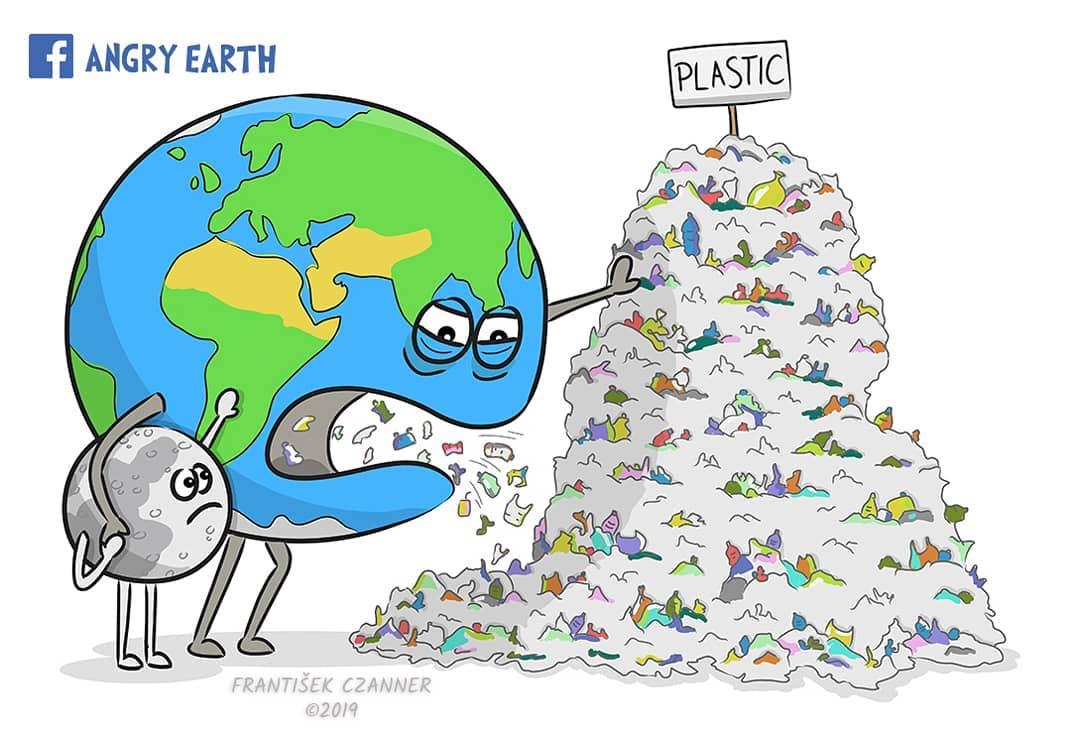 1565100565 be7ec282e3d1ea53242f997833919658 - «Рассерженная Земля»: серия рисунков, которые заставляют задуматься о судьбе нашей планеты