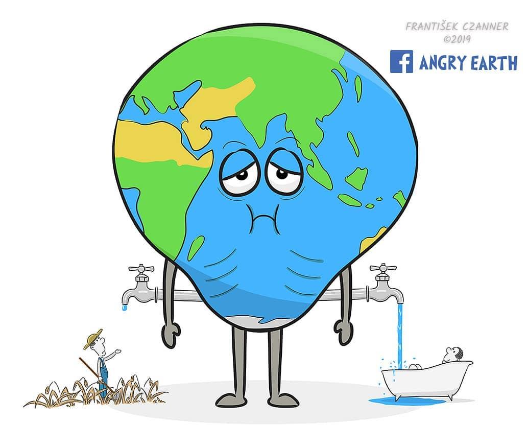 1565100567 ad3e69f5865a0e703f250275db91269b - «Рассерженная Земля»: серия рисунков, которые заставляют задуматься о судьбе нашей планеты