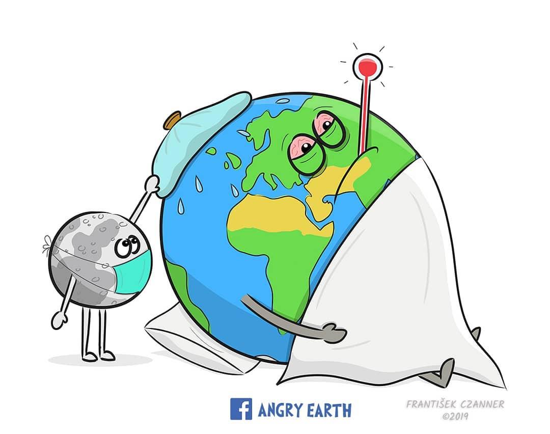 1565100569 05f2e91f8fa0e40678d424d289a12393 - «Рассерженная Земля»: серия рисунков, которые заставляют задуматься о судьбе нашей планеты