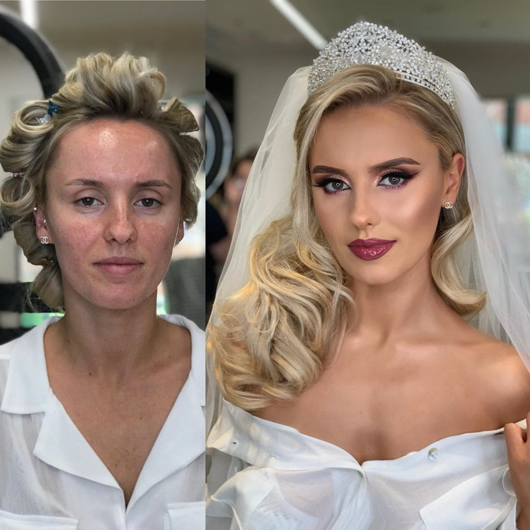 1565271390 7301c64a455ef86f0c57255c596ba85c - 18 прекрасных преображений до и после того, как невесты побывали в руках талантливого визажиста