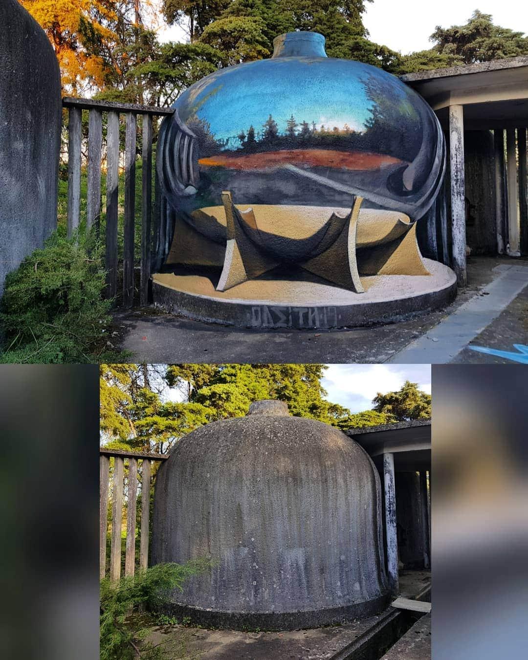 1565697714 1c15c4313c2710ee67286ab50cfb611d - 20 работ художника, который превращает невзрачные стены в невероятно реалистичные 3D-граффити