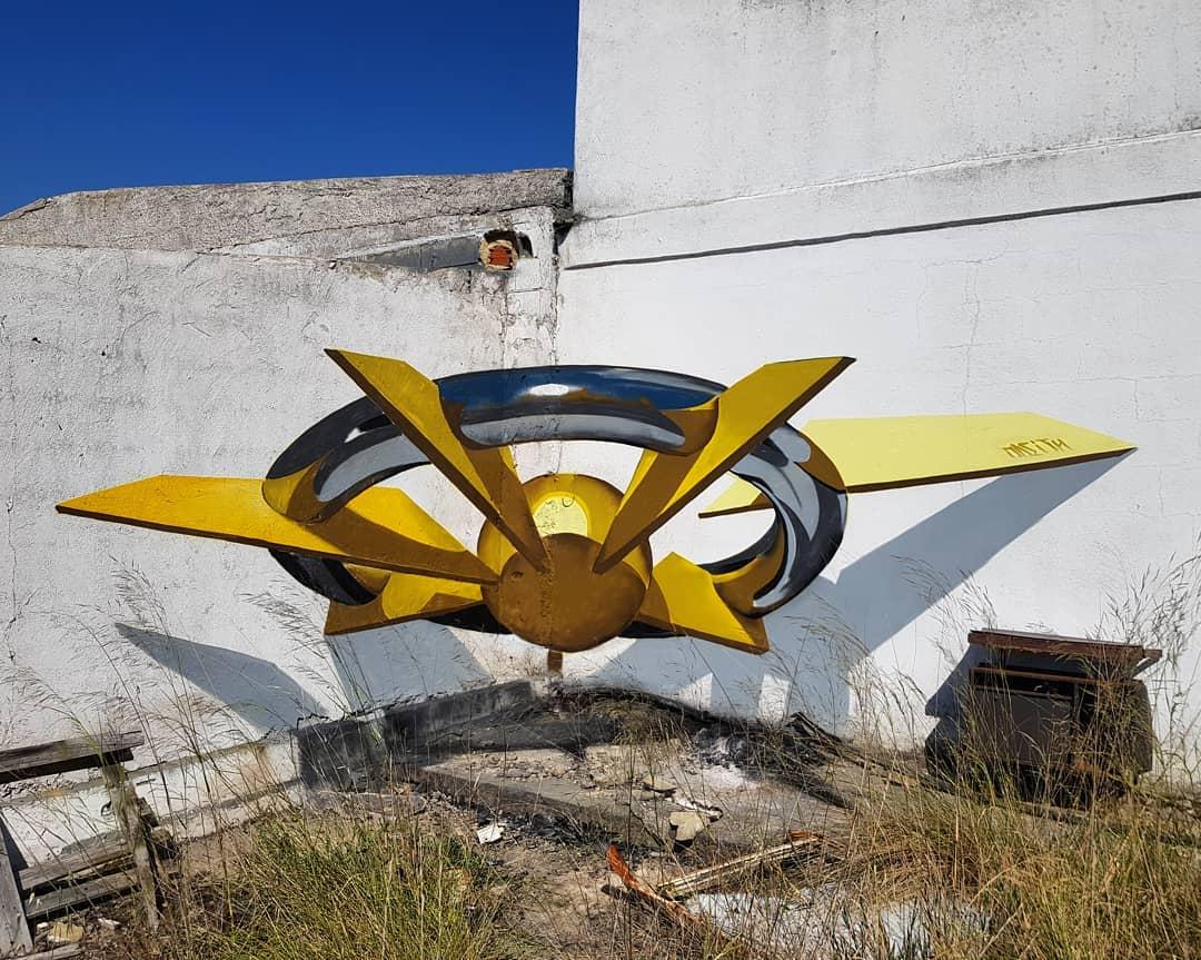 1565697715 be1f5dff19e80d61ec7239edadc61742 - 20 работ художника, который превращает невзрачные стены в невероятно реалистичные 3D-граффити
