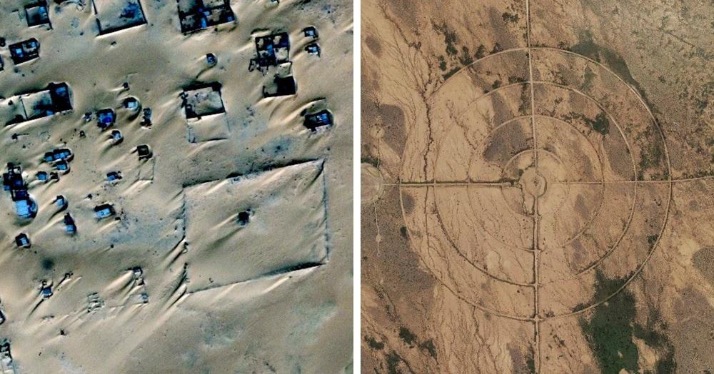 Парень исследует Землю по Google Maps и делится необычными местами, которые ему удалось найти