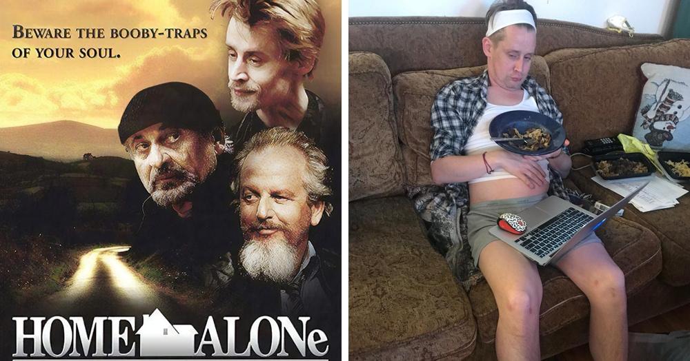 Актёр предложил свой сценарий продолжения фильма «Один дома», и зрители уже хотят его посмотреть