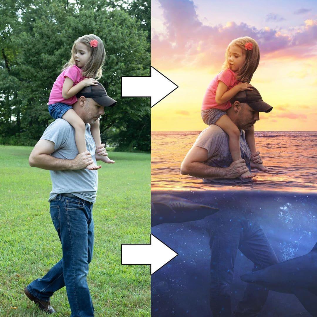 1565941222 a72a10462099c8926595ec109725f489 - Фотограф поэтапно показал, как с помощью фотошопа его обычные снимки превращаются в волшебные