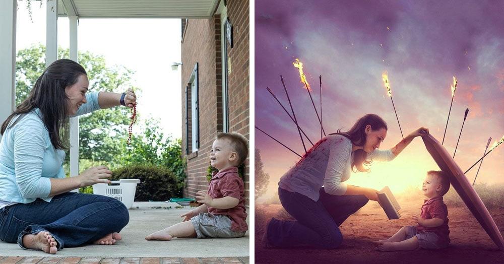 Фотограф поэтапно показал, как с помощью фотошопа его обычные снимки превращаются в волшебные