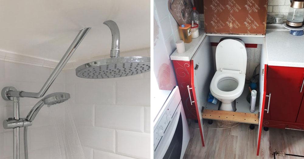 20 снимков ванных комнат и туалетов, которые удивляют своими дизайнерскими и техническими решениями