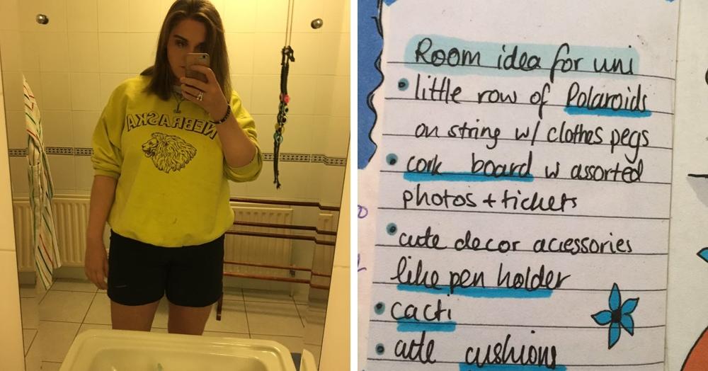 Девушка сравнила то, как хотела оформить комнату, с тем, что вышло в реальности, и это жиза