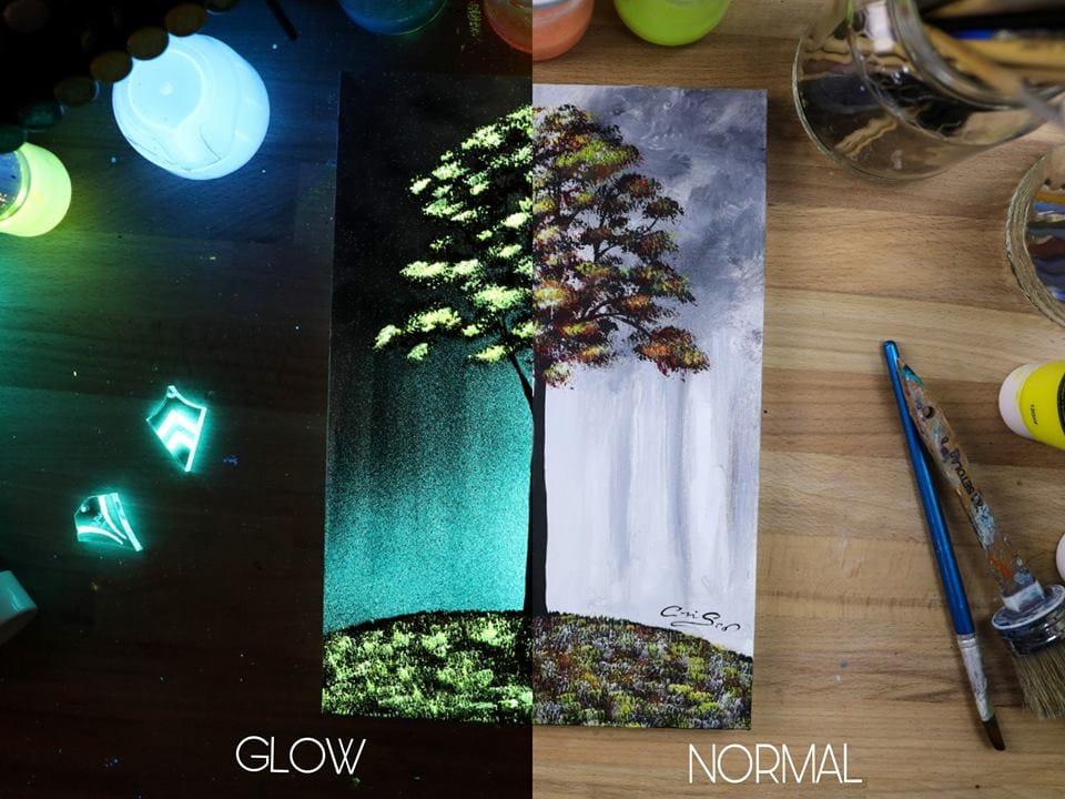 1566887338 fab90e09e27facff86f0846d65121dbe - 20 рисунков итальянского художника, которые оживают, когда выключается свет