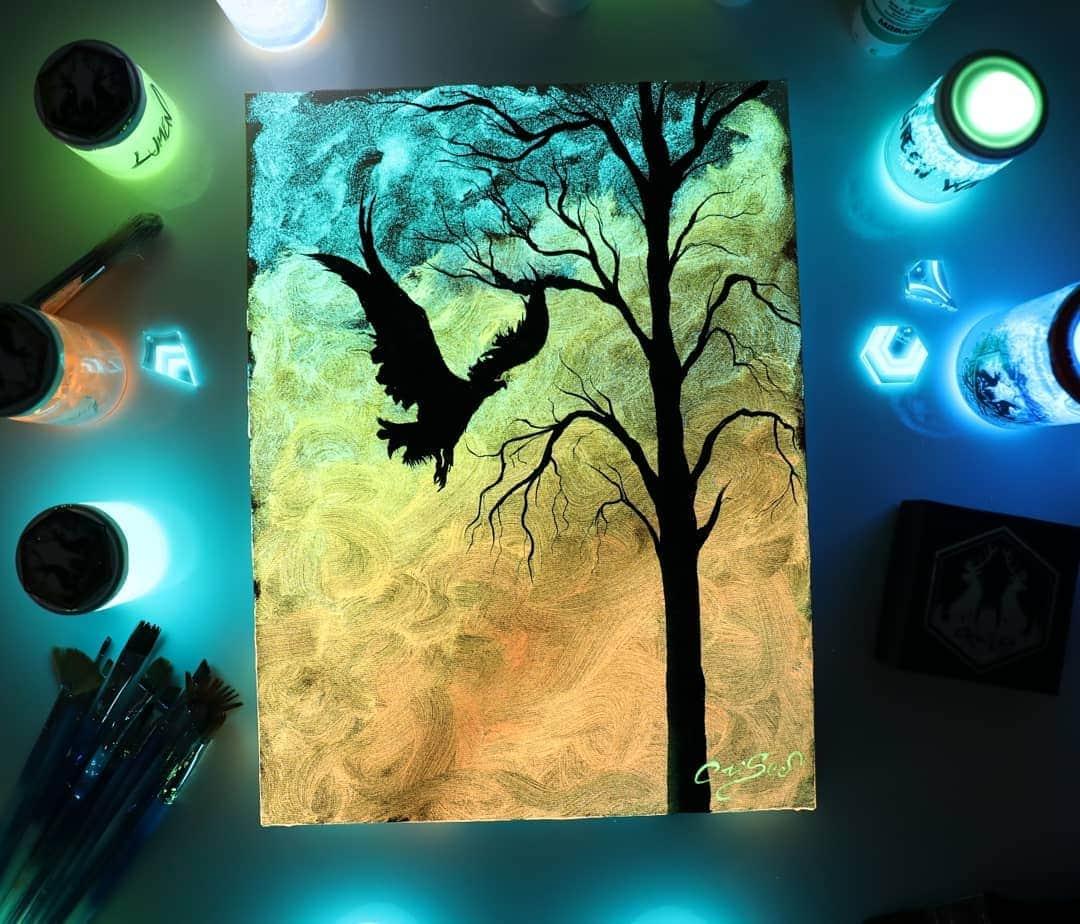 1566887349 71041f55b5a2b95758cdf77003261136 - 20 рисунков итальянского художника, которые оживают, когда выключается свет