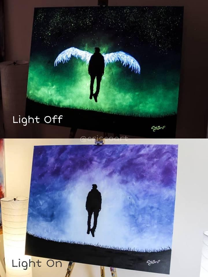 1566887352 24f5d8a42878a65bd68d870c96d99990 - 20 рисунков итальянского художника, которые оживают, когда выключается свет
