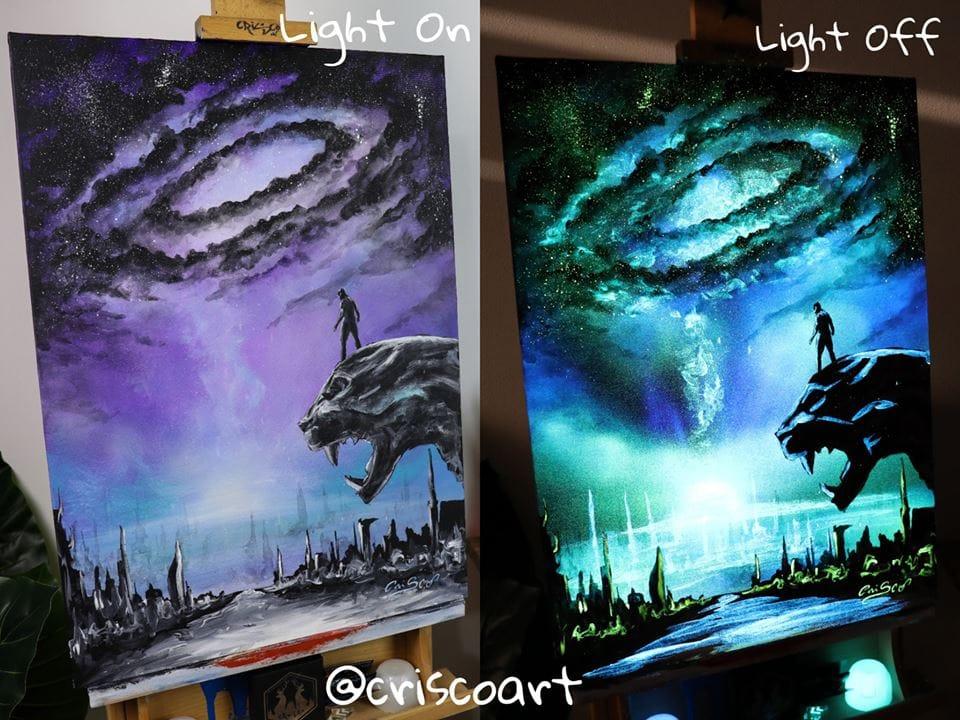 1566887353 6c6e3c606949de4364d0c3b72133418e - 20 рисунков итальянского художника, которые оживают, когда выключается свет