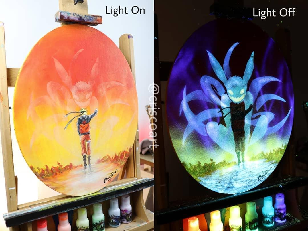 1566887357 cb16a0703280876cc1225a4569e205e7 - 20 рисунков итальянского художника, которые оживают, когда выключается свет