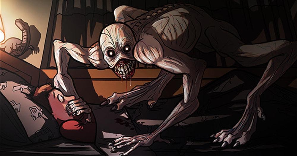 Жуткие комиксы о паранормальном, которые заставят вас почувствовать, как кровь стынет в жилах