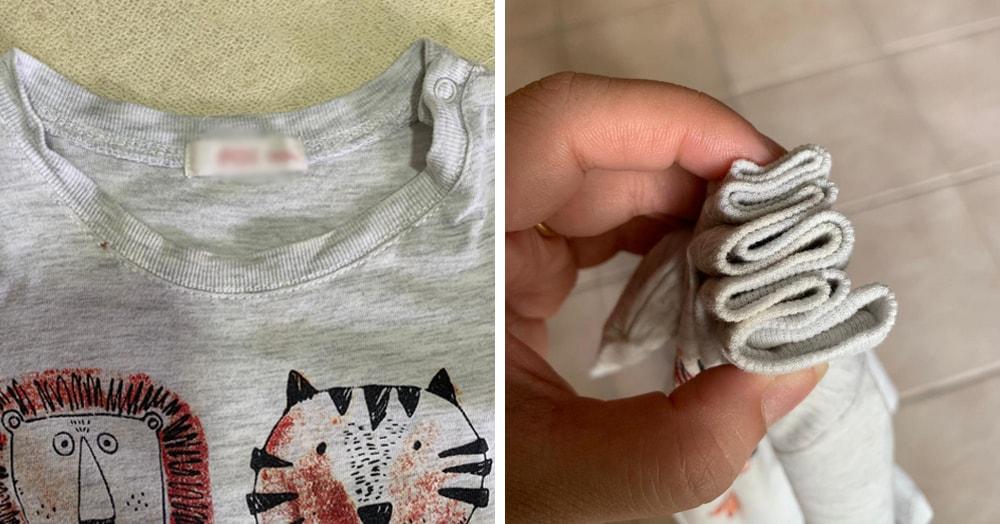 Девушка опробовала лайфхак, возвращающий растянувшейся вещи приличный вид. Всё просто, но работает!
