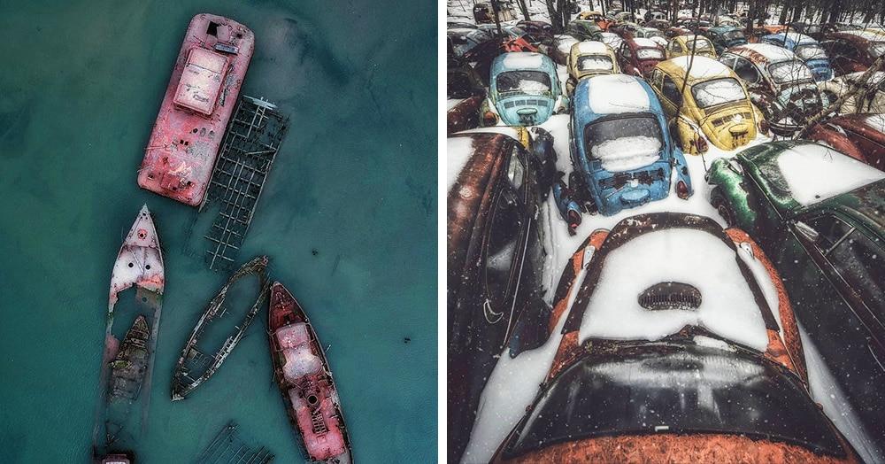 20 бросающих в холод снимков заброшенных мест от фотографа из США. Красиво и зловеще