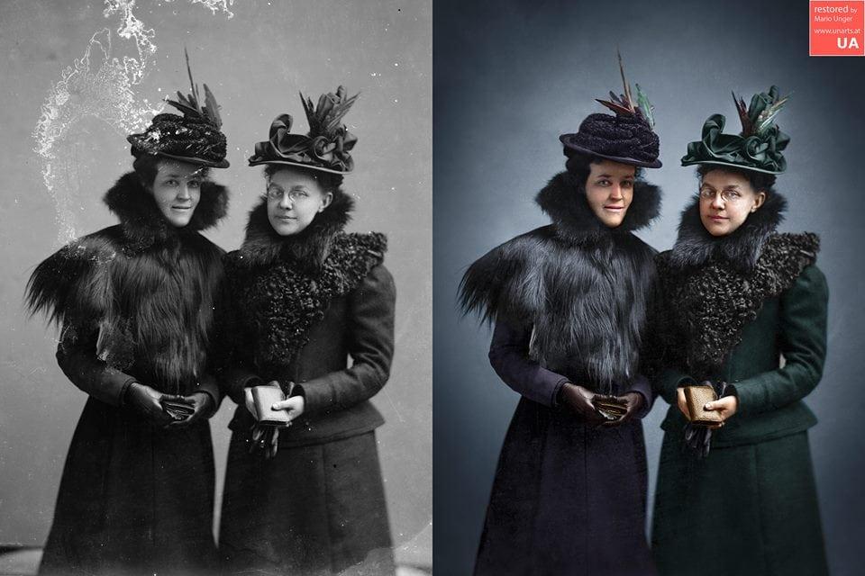 1567001484 2044a672dfd8884944e2ff61d82a4102 - Фотограф из Австрии восстанавливает порванные и выцветшие снимки, которые другие бы выбросили