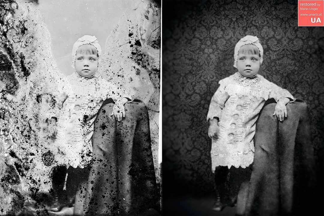 1567001491 558a6e1ab01bae512479feb92f0f1e57 - Фотограф из Австрии восстанавливает порванные и выцветшие снимки, которые другие бы выбросили