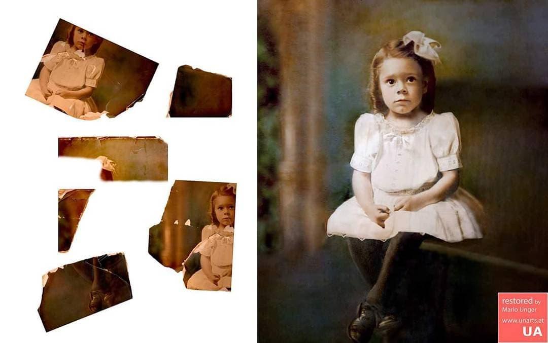 1567001492 49f05256f740a9898644ff25ede57368 - Фотограф из Австрии восстанавливает порванные и выцветшие снимки, которые другие бы выбросили