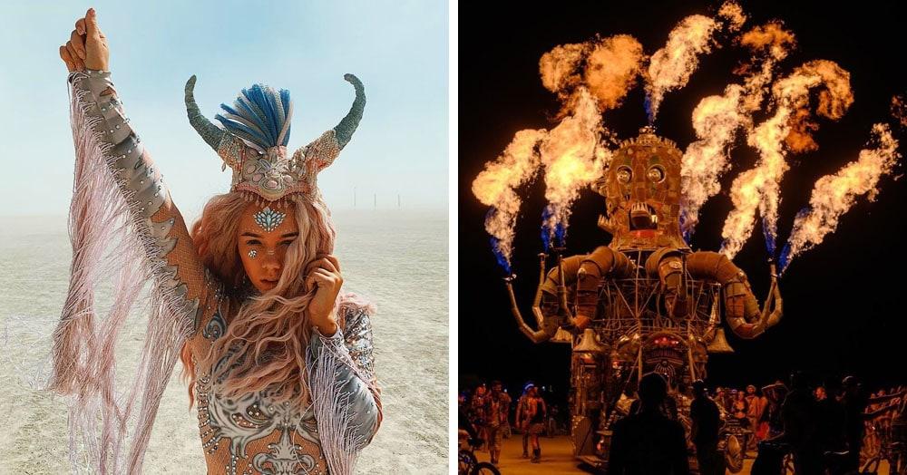 20 фотографий с фестиваля Burning Man 2019 — самого пыльного и огненного события года