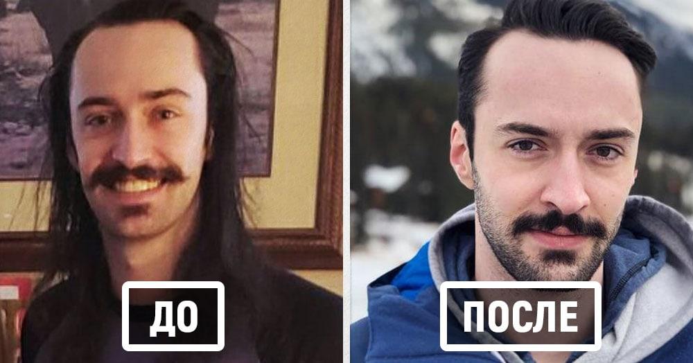 17 случаев, когда мужчины подстриглись и стали совершенно другими людьми