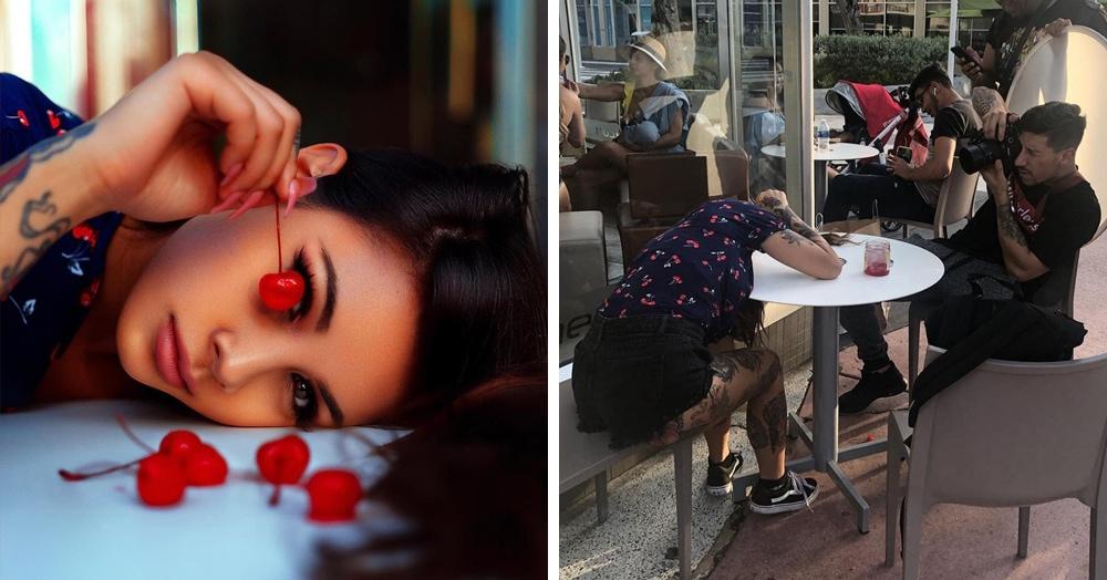 Американский фотограф показывает, как выглядит лицевая сторона его фото, и что прячется на изнанке