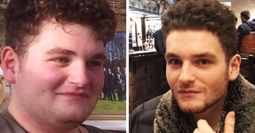 Британец хотел немного похудеть, но перестарался. Теперь он влюблён в спорт, и друзья его не узнают