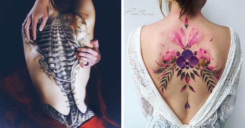 20 крутых татуировок на спине, которые впечатляют своим размахом