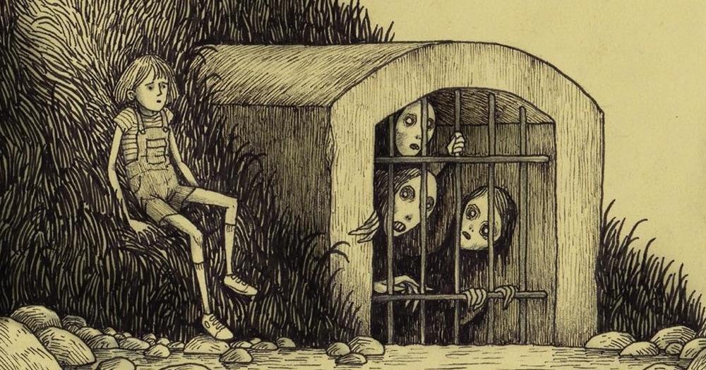 20 жутких иллюстраций, в которых ночные кошмары становятся явью