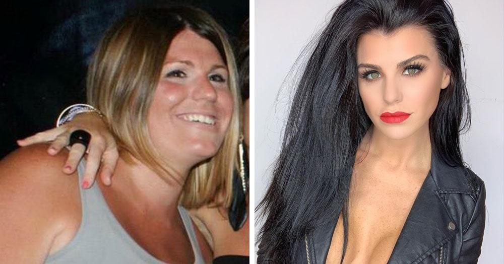 Британка страдала от лишнего веса и неуверенности, но за 4 года превратилась в модель года