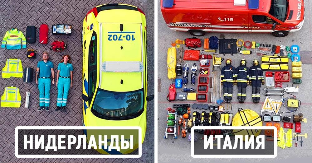 Экстренные службы из разных стран показывают, как бы они выглядели, будь они наборами Лего