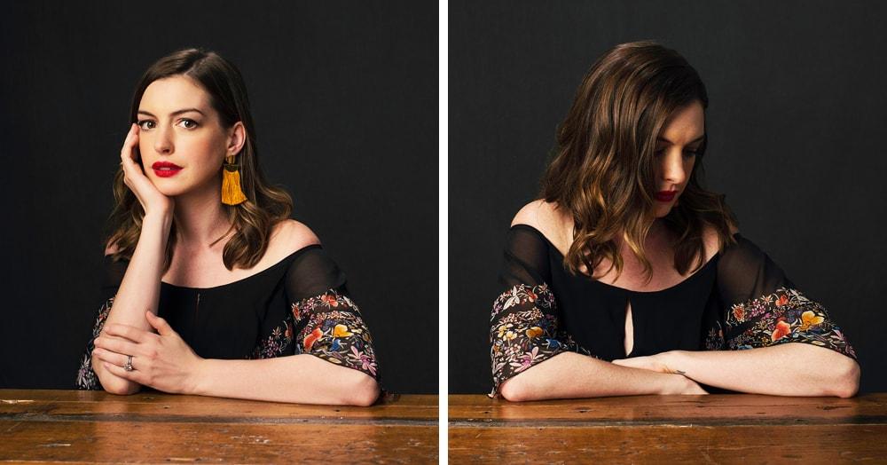 Фотограф снял актёров в проекте, где на одном фото они позируют как звёзды, а на другом — как хотят