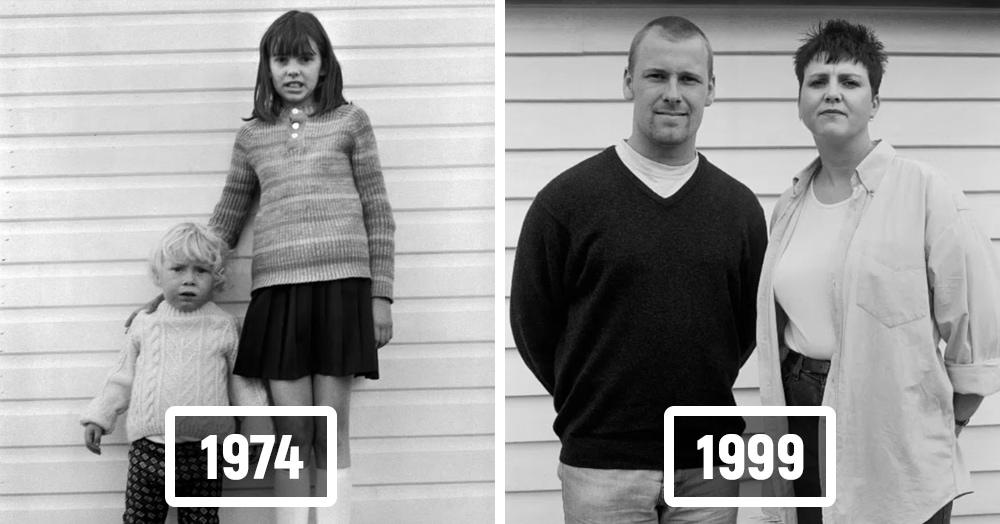 Фотограф делал портреты незнакомцев в 70-х, а потом нашёл их и показал, как они выглядят 20 лет спустя