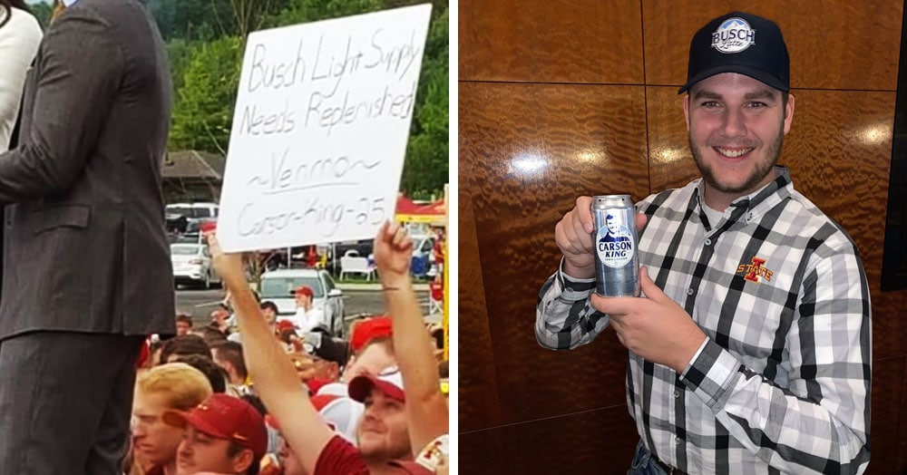 Футбольный болельщик попросил денег на пиво и случайно запустил большую благотворительную акцию