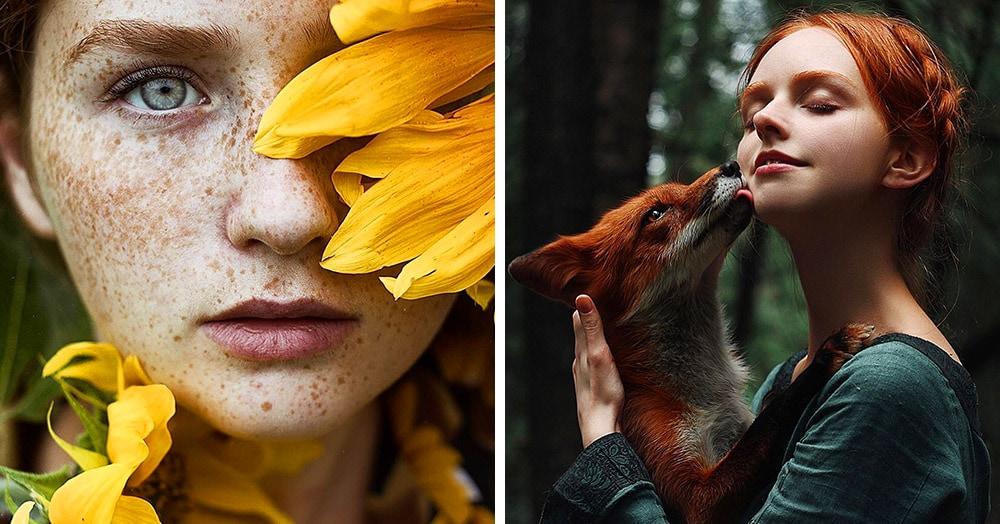 25 снимков чарующих рыжих девушек от фотографа из Санкт-Петербурга