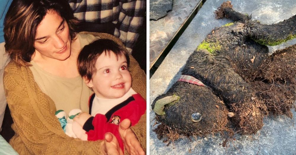 У девочки пропала игрушка 14 лет назад. Удивительно всё: и где её нашли, и то, что она не изменилась