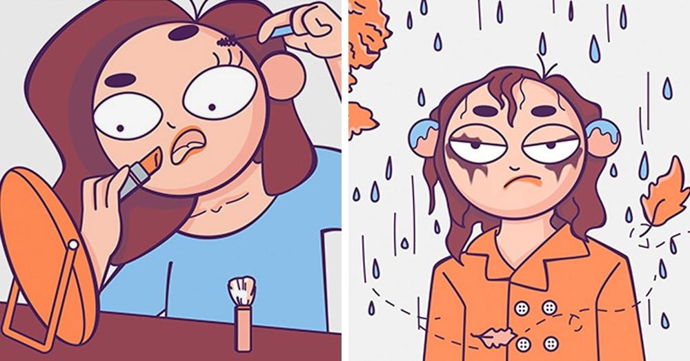 20 ярких комиксов, в которых девчачьи проблемы становятся ясны как никогда