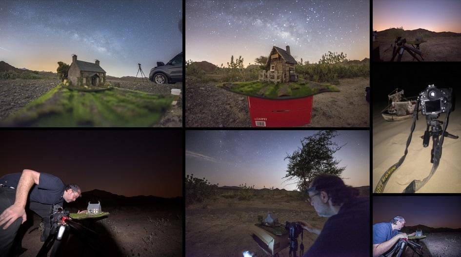 1570431315 c3ea886e7d47f5c49a7d092fadf0c03b - Фотограф снимает игрушечные домики на фоне звёздного неба, и его работы — просто космос