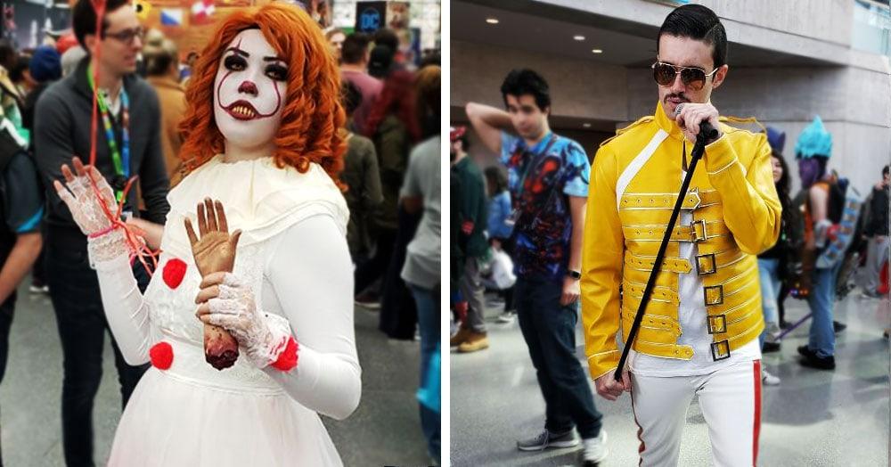 30 впечатляющих перевоплощений в героев поп-культуры с фестиваля Comic Con 2019 в Нью-Йорке