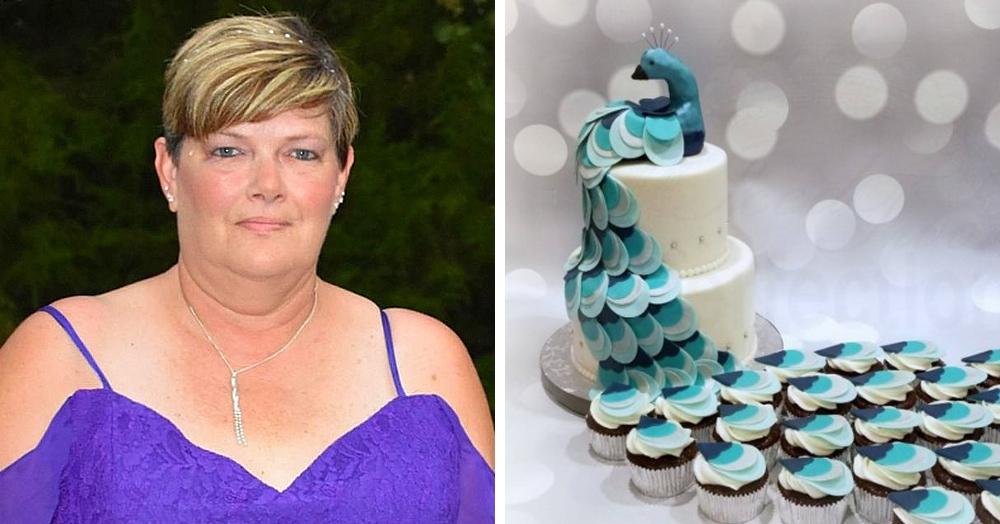 Женщина заказала на свадьбу торт с павлинами, но вместо красоты получила полный кондитерский провал
