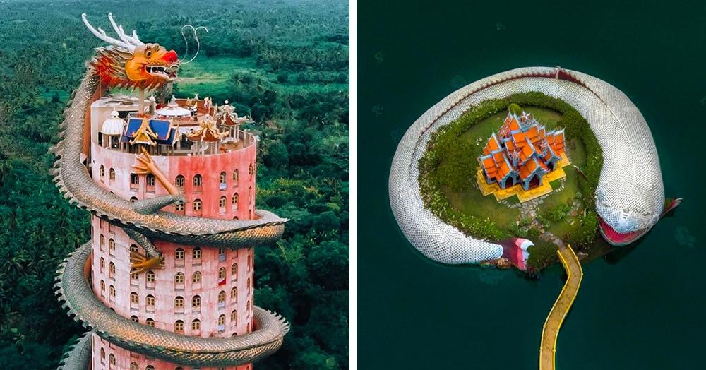 18 снимков удивительной архитектуры восточных храмов, которые восхищают своей оригинальностью