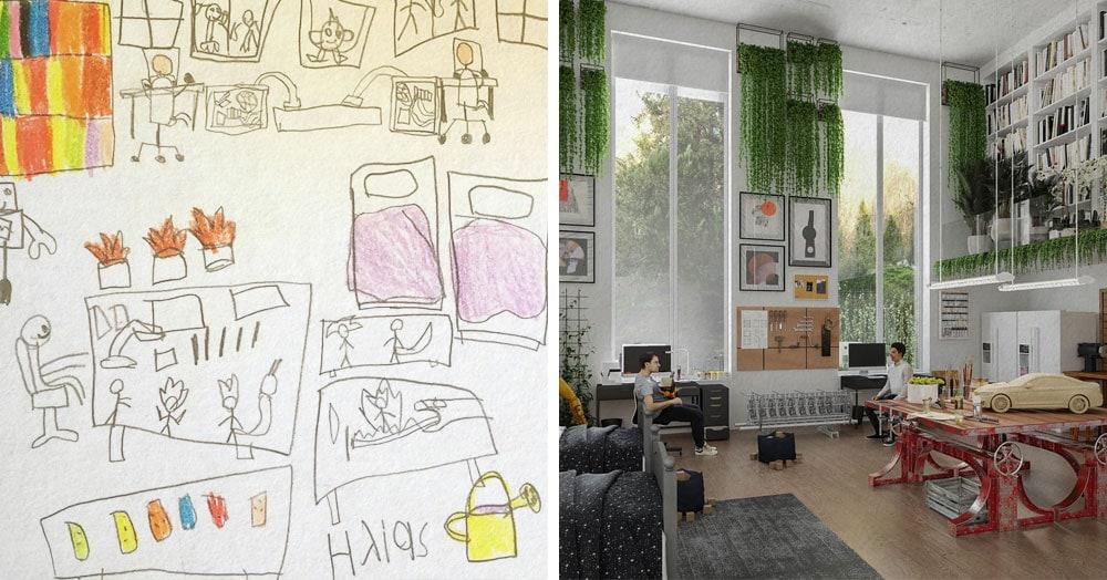 Дети нарисовали профессии своей мечты, а дизайнеры показали, как они будут выглядеть в реальности