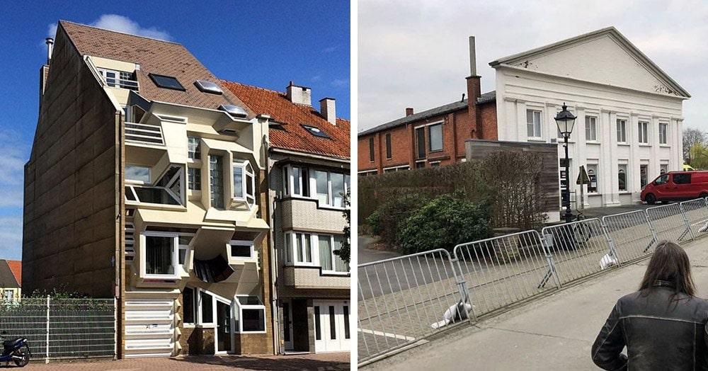 Бельгиец создал Инстаграм, в котором показывает, что самые нелепые дома построены в его стране