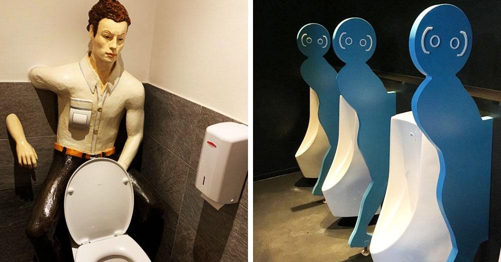 15 необычных туалетов, которым есть чем удивить своих посетителей